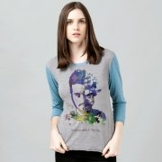 Camiseta Manga Longa Feminina Luan Santana Acordando o Prédio