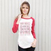 Camiseta Manga Longa Feminina Thiaguinho Curtir com os Parça