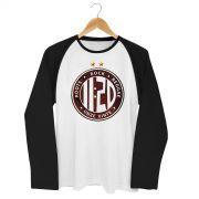 Camiseta Raglan Masculina Onze:20 Logo Star