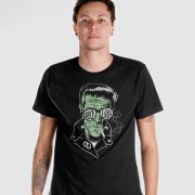 Camiseta Masculina 89FM A Rádio Rock Frankenstein