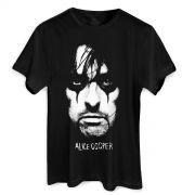Camiseta Masculina Alice Cooper Portrait