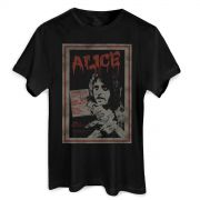 Camiseta Masculina Alice Cooper Vintage Poster