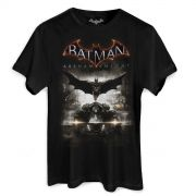 Camiseta Masculina Batman Arkham Knight Action