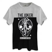 Camiseta Masculina Bicolor The Joker Malice & Mayhem