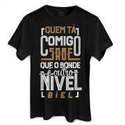 Camiseta Masculina Biel Tô Tirando Onda