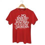 Camiseta Masculina Chit�ozinho & Xoror� No Rancho Fundo