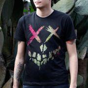 Camiseta Masculina Esquadrão Suicida Skull Logo