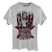 Camiseta Masculina Esquadr�o Suicida We Trust
