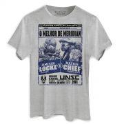 Camiseta Masculina Halo Locke vs Master Chief