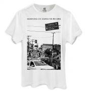 Camiseta Masculina Harmonia do Samba Cidade