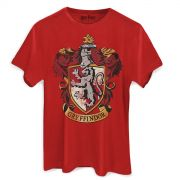 Camiseta Masculina Harry Potter Gryffindor