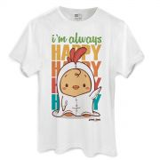 Camiseta Masculina Jaime I�m Always Happy