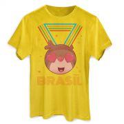 Camiseta Masculina Jaime Medalha de Ouro