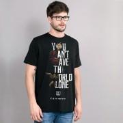 Camiseta Masculina Liga da Justiça You Can't Save Color