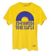 Camiseta Masculina Make U Sweat I´m With The DJ´s