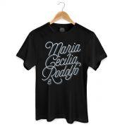 Camiseta Masculina Maria Cecília & Rodolfo Type