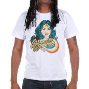 Camiseta Masculina Mulher Maravilha Photo
