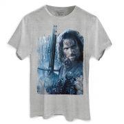 Camiseta Masculina O Senhor dos Anéis As Duas Torres