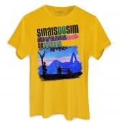Camiseta Masculina Os Paralamas do Sucesso Sinais do Sim Take Rio