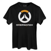 Camiseta Masculina Overwatch Logo