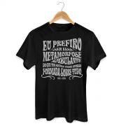 Camiseta Masculina Raul Seixas Metamorfose Ambulante