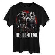 Camiseta Masculina Resident Evil Zombies