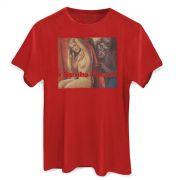 Camiseta Masculina Skank O Samba Poconé Red