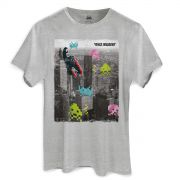 Camiseta Masculina Space Invaders In the City