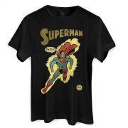 Camiseta Masculina Superman Justice