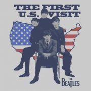 Camiseta Masculina The Beatles Maps