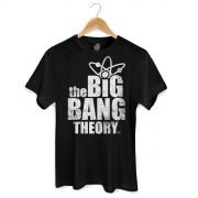 Camiseta Masculina The Big Bang Theory Logo