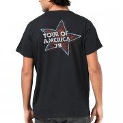 Camiseta Masculina The Rolling Stones Flag