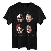Camiseta Masculina Titãs Capa Nheengatu Ao Vivo