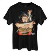 Camiseta Masculina Wonder Woman Action