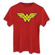 Camiseta Masculina Wonder Woman Logo