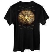 Camiseta Masculina Wonder Woman Shield