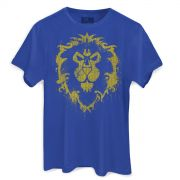 Camiseta Masculina World of Warcraft Aliança