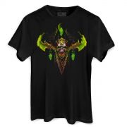 Camiseta Masculina World of Warcraft Illidan Demon Hunter