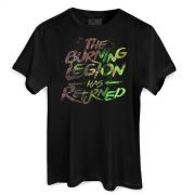 Camiseta Masculina World of Warcraft The Burning Legion has Returned