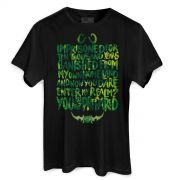 Camiseta Masculina World of Warcraft You Are Not Prepared