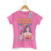 Camiseta Power Girls Mulher Maravilha