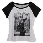 Camiseta Raglan Feminina Catwoman Self