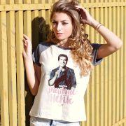 Camiseta Raglan Feminina Daniel Inevitavelmente