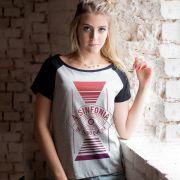 Camiseta Raglan Feminina Fresno Horus