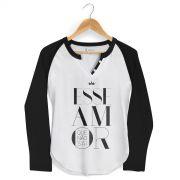 Camiseta Raglan Feminina Ivete Sangalo Esse Amor