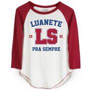 Camiseta Manga Longa Feminina Luan Santana LS 1991