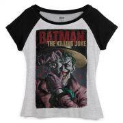 Camiseta Raglan Feminina The Joker Killing Joke