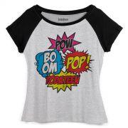 Camiseta Raglan Feminina TodaTeen BOOM!