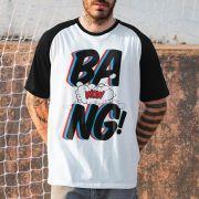 Camiseta Raglan Masculina Anitta Bang! Wow