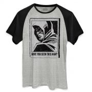 Camiseta Raglan Masculina Arrow Have You Seen This Man?